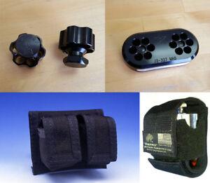 J2-327 [6-shot .327 Mag Ruger LCR] Speedloader, Bedside Block, or Pouch
