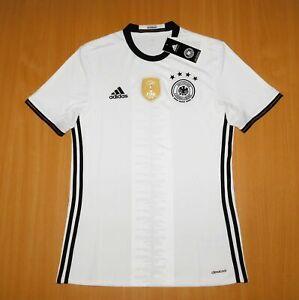 NEW Deutschland GERMANY 2016 2017 trikot Home shirt jersey Football S Soccer