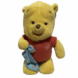 Vintage Fisher Price Disney Winnie The Pooh Love To Walk Walking Talking Plush