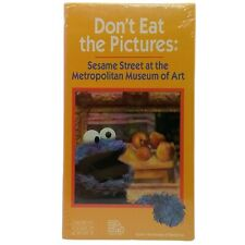 Don't Eat The Pictures: Sesame Street At The Metropolitan Museum Of Art VHS 1987