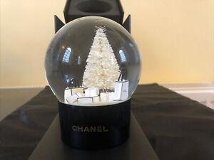 Chanel CC Brand New Novelty Tree Snow Globe Luxury Gift VIP BNIB