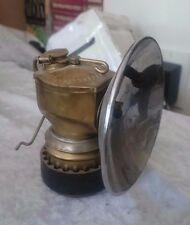 Justrite Carbide Miner's Lamp, air-cooled grip Amazing condition!