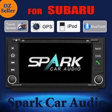 SPARK GPS DVD SAT NAV IPOD BLUETOOTH FOR SUBARU IMPREZA FORESTER XV 2008-2014
