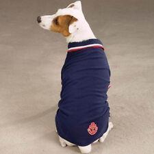 ZACK & ZOEY Dog Clothing Navy Blue Nautical Polo Shirt X-Small