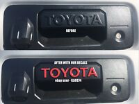 Toyota Tacoma Tailgate Handle Decal 2014 2015 2016 2017 2018 2019 SR5 TRD PRO