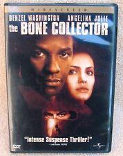 The Bone Collector (DVD 2000) Denzel Washington Angelina Jolie Suspense Thriller