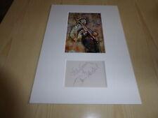 Jimi Hendrix mounted photograph & preprint signed autograph card