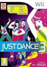 Just Dance 3 (Wii, 2011) PAL Disc Mint Complete Excellent Condition Wii U NJ1