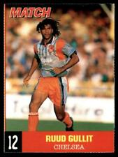Match magazine - 1995-96 Mini-Files Ruud Gullit (Chelsea) No. 12