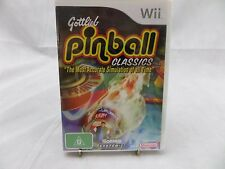 Brand New & Sealed Gottlieb Pinball Classics (Nintendo Wii, 2006)