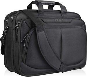"KROSER 17.1"" Laptop Bag for 15.6""-17"" Laptop Briefcase Water-Repellent Computer"