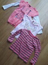 3 Girls T-Shirts - 5-6 Years- Pink