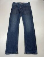 MENS LEVI STRAUSS&CO LEVI'S 514 SIZE W31 L32 BLUE SLIM FIT DENIM JEAN TROUSERS