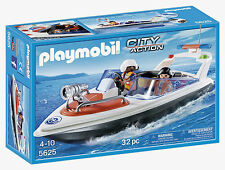 Playmobil 5625 - City Action Coastal Rescue Boat Playset ** PURCHASE TODAY **