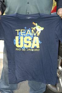 Team USA Rio Olympics t shirt 3xl Frog logo Brazil Brasil Near mint Official