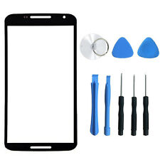 Front Outer Screen Glass Lens Replacement Parts For Motorola Google Nexus 6 New
