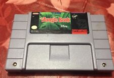 Nintendo Snes The Jungle Book Game Used Nice