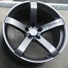 "19"" MRR VP5 Gunmetal Wheels Set For Hyundai Genesis Nissan 350Z 370Z G35 Sedan"