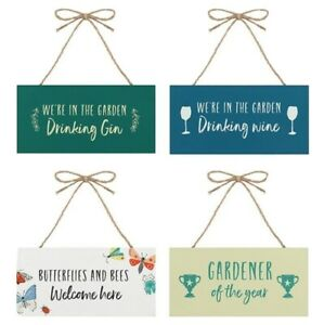 Gifts For Gardeners Wooden Signs