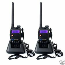 Walkie Talkies Professional 5W 128 channels Band Double Double Frequency Headset