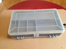 Plastic Rwo Sided Tackle Utility Case 8x5x2