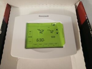 Honeywell Wi-Fi 7 Day Programmable Touchscreen Thermostat RTH8580WF1007 - White