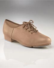 Capezio CG55 Women's Size 7 Medium Caramel Tele Tone® Xtreme Lace Up Tap Shoes