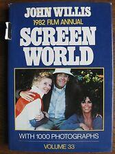 1982 SCREEN WORLD - John Willis Film Annual Hard Cover Book HERNY FONDA