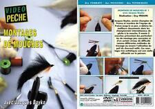 Montage de mouches n°1 avec Jacques Boyko - Pêche a la mouche - Vidéo Pêche