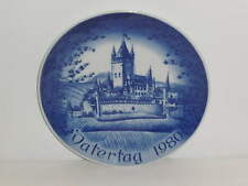 Bareuther Vatertagsteller / Father's day plate 1980