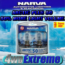 NARVA HB3 GLOBES ICY BLUE ARCTIC 12V LAMPS 48616BL2 LIGHTS HEADLIGHTS 60W ADR