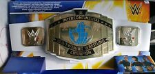 WWE MATTEL INTERCONTINENTAL CHAMPIONSHIP CHAMPION BELT FOR CHILD KIDS ROLEPLAY
