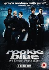 Rookie Blue Complete Series 1 DVD All Episode First Season Original UK R2 NEW