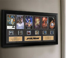 Star Wars Through the Ages Special Edition Montage Film Cell Art