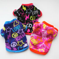 Chihuahua Puppy Fleece Sweater Coat Clothes For Small Pet Dog Cat Warm Apparel