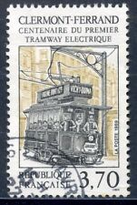 STAMP /// TIMBRE FRANCE OBLITERE N° 2608 // 1° TRAMWAY ELECTRIQUE