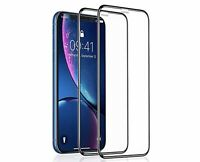 2Pack For Apple iPhone X XS Max XR Full Coverage Tempered Glass Screen Protector