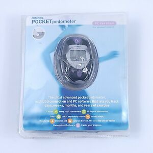 Omron Dual-Axis Pocket Pedometer PC Version HJ-720ITC Fast Free Shipping