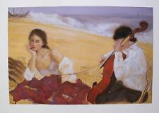 "JANET TREBY ""THE DREAM"" Hand Signed Limited Edition Giclee Art"