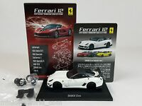 1:64 Kyosho Ferrari Minicar Collection 12 599XX EVO Evoluzione 2011 White Secret