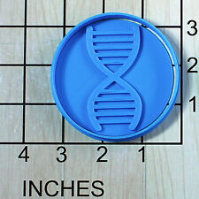DNA Double Helix Fondant Cookie Cutter and Stamp #1533