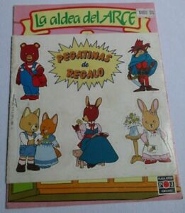 1987 ALDEA DEL ARCE comic ANIME Spain edition MAPLE TOWN MONOGATARI Rabbit #1