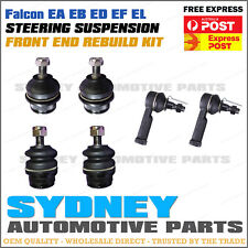 Falcon EA EB ED EF EL FRONT Upper & Lower Ball Joints, Outer Tie Rod Ends Kit