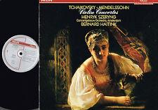 MENDHELSON Tchaikovsky VIOLIN CONCERTOS LP H. Szeryng B. HAITINK Philips HOLLAND