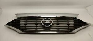Upper Grille 623104AY0A Fits 11 12 13 14 15 16 17 Nissan Quest OEM