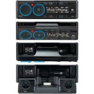 Dual Electronics XML8100 AM/FM Mechless Receiver with In-Dash iPod Docking St...