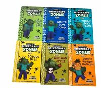 Diary Of A Minecraft Zombie 14 x Books Bulk Lot Mixed Collection