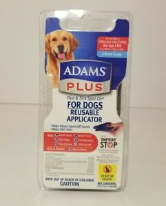Adams Plus Flea Tick Spot On For Extra Large Dogs 61 To 150 lbs Applicator- HG32