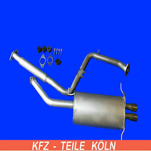 FORD USA - Probe II - 2.5 V6 24V - Mittel + Endschalldämpfer Auspuff