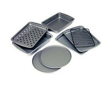 Toaster Oven Bakeware Set 8 Piece Nonstick Convection Oven Pizza Pans Cookies